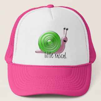 little rascal. trucker hat