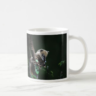 Little rascals coati - lemur classic white coffee mug