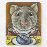 Little rat mouse pad