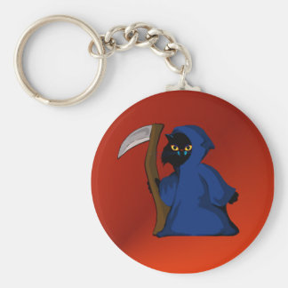 Little Reaper Kitty  Keychain