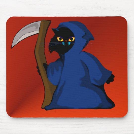 Little Reaper Kitty  Mousepad