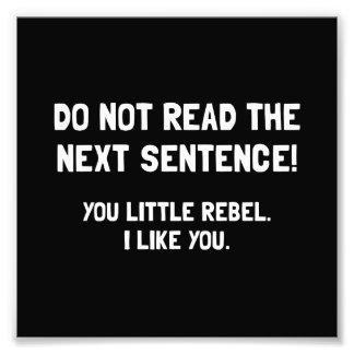 Little Rebel Photograph