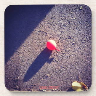 Little Red Balloon Drink Coaster