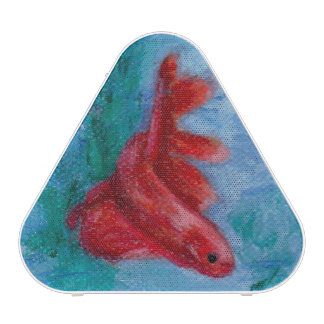 Little Red Betta Fish