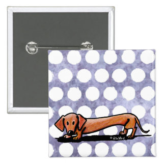 Little Red Doxie Pin