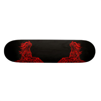 Little red Dragon Skateboard Deck