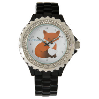 Little Red Fox Personalized Watch