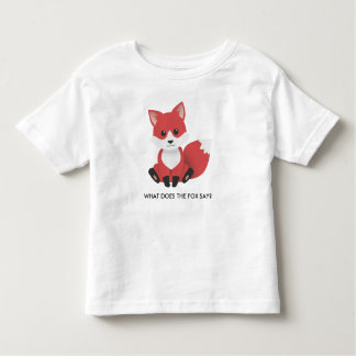 Little Red Fox T Shirts