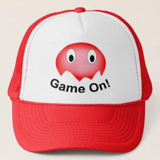 Little Red Ghost Trucker Hat