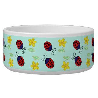 Little red ladybird pets bowl
