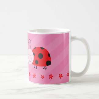 Little Red Ladybug Personalized Mug
