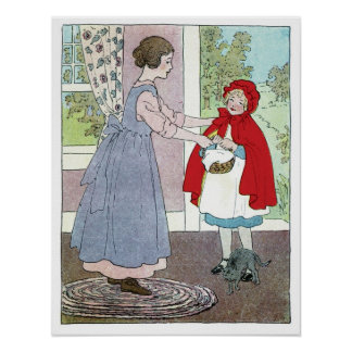 Little Red Riding Hood: Bring This To Grandma Poster