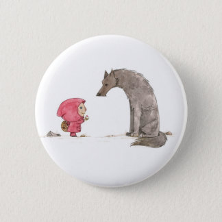 Little Red Riding Hood Button