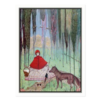 Little Red Riding Hood by Harry Clarke Postcard