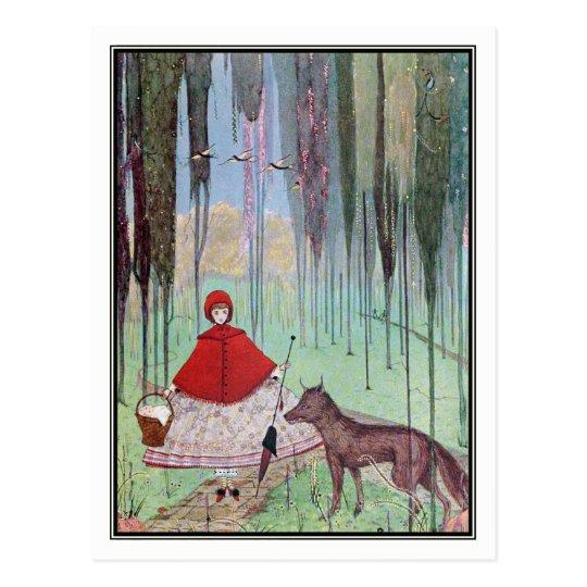Little Red Riding Hood by Harry Clarke Postcard
