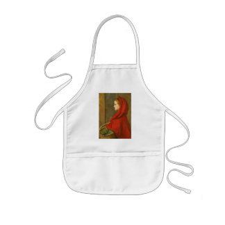 Little Red Riding Hood by Millais Kids Apron