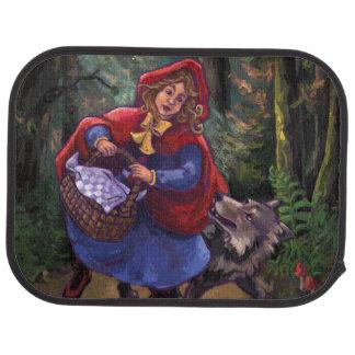 Little Red Riding Hood Car Mat