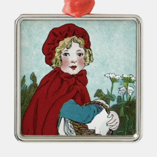 Little Red Riding Hood Christmas Ornament