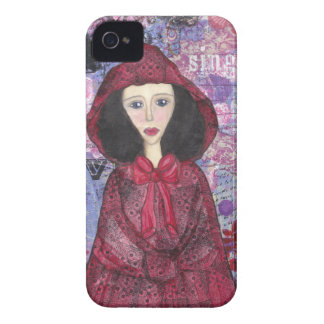 Little Red Riding Hood in the Woods 001.jpg Case-Mate iPhone 4 Case