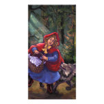 Little Red Riding Hood Photo Card Template