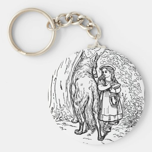 little-red-riding-hood-pictures-1 key chain