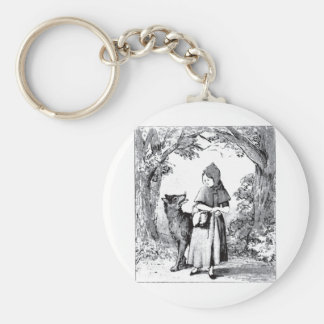 little-red-riding-hood-pictures-3 basic round button key ring