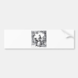 little-red-riding-hood-pictures-3 bumper sticker