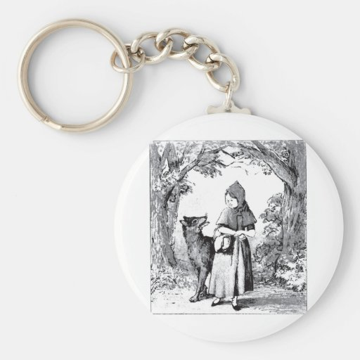 little-red-riding-hood-pictures-3 key chains