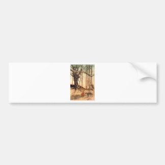 little-red-riding-hood-pictures-6 bumper sticker