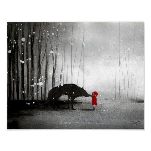 Little Red Riding Hood ~ The First Touch Posters