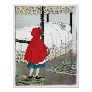 Little Red Riding Hood: What Great Ears You Have! Poster