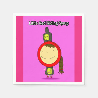 Little Red Riding Syrup Napkins Paper Napkin