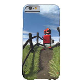 Little Red Robot Barely There iPhone 6 Case