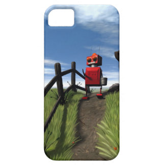 Little Red Robot iPhone 5 Case