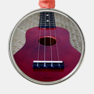 Little Red Uke Christmas Ornament