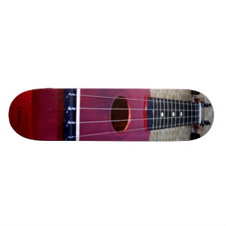 Little Red Ukulele Custom Skate Board