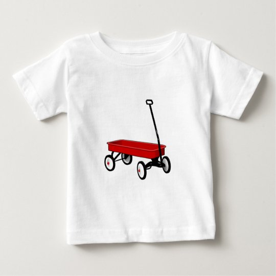 Little Red Wagon Baby T-Shirt