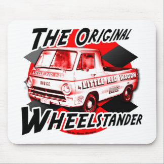 Little Red Wagon design Mouse Pad