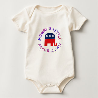 LITTLE REPUBLICAN BABY BODYSUIT
