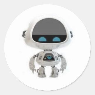Little Robot 1 Classic Round Sticker