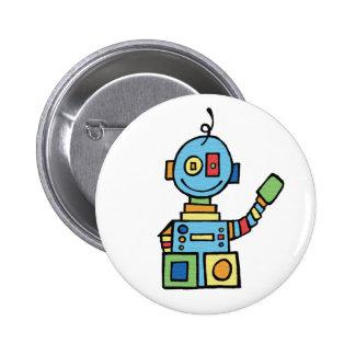 Little Robot 6 Cm Round Badge