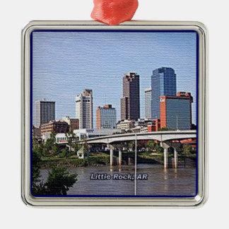 Little Rock, Arkansas Christmas Ornament