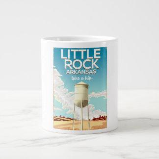Little Rock Arkansas travel poster Large Coffee Mug
