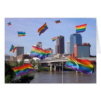 Little Rock Flying Pride Card
