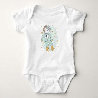 Little Rocket Man Cute Baby Boy Bodysuit