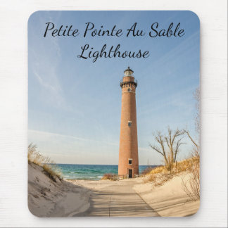 Little Sable Point Lighthouse in Mears, Michigan Mouse Mat