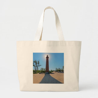 Little Sable Point Lighthouse Jumbo Tote Bag