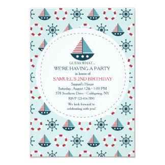 Little Sailboats Invitation
