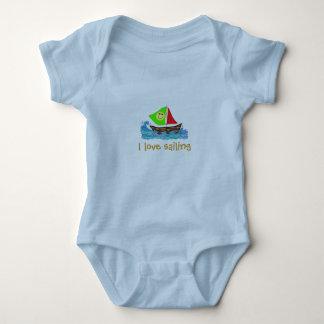 Little Sailor Baby Baby Bodysuit