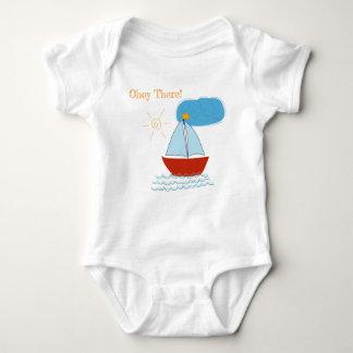 Little Sailor Baby Bodysuit